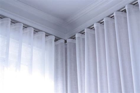cortinas kirsch wave pleat curtains track ceiling mounted curtains