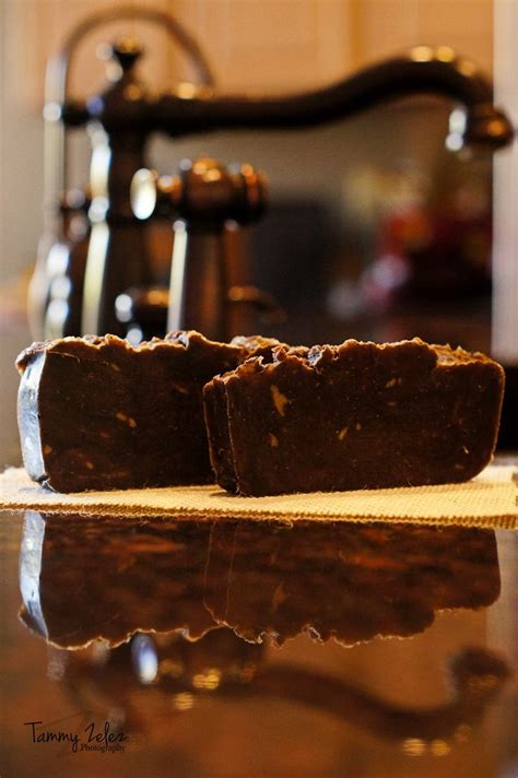 Coffee Soap diy kitchen coffee spice bar soap process using olive coconut sustainable