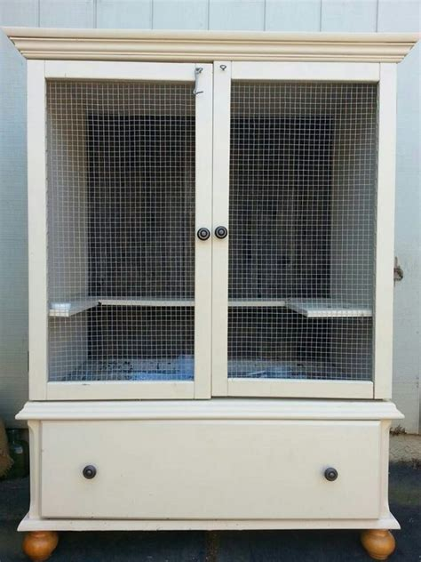 Used China Hutch Rabbit Hutch Ideas Made From Repurposed Furniture Diy