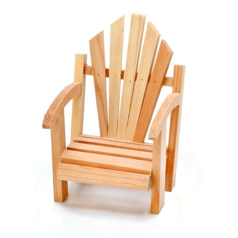 Unfinished Wood Adirondack Chairs by Unfinished Wood Miniature Adirondack Chair