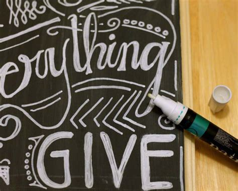 chalkboard paint pens faux chalkboard sign think crafts by createforless