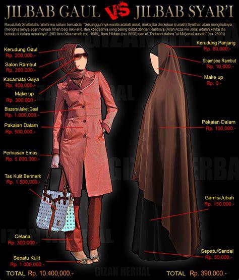 Jilbab Syar I Yang Benar ternyata jilbab gaul lebih mahal daripada jilbab yang
