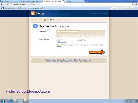 membuat blog jadi keren widuri s blog membuat blog pribadi