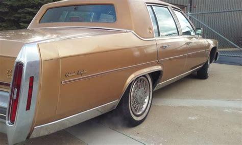 1981 Cadillac For Sale 1981 Cadillac Fleetwood Brougham D Elegance Sedan 4 Door 6