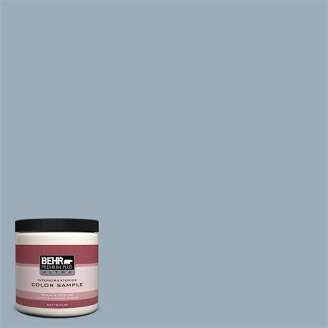 Behr Premium Plus Ultra 8 Oz 570f 4 Blue Willow Interior