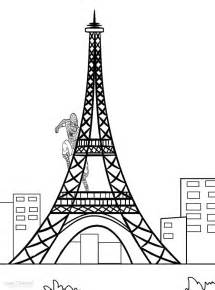 eiffel tower coloring pages printable eiffel tower coloring pages coloring me