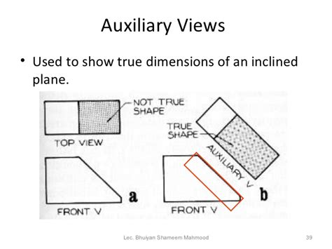 how to show dimensions engineering drawing
