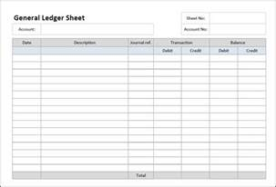 T Ledger Template by 3 Account Ledger Templates Excel Excel Xlts