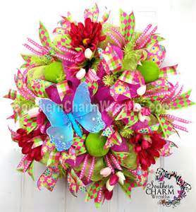 Spring Wreath diy monogram spring wreath she includes ideas for 2 other spring