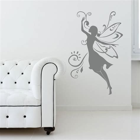 fairies wall stickers wall sticker by spin collective notonthehighstreet