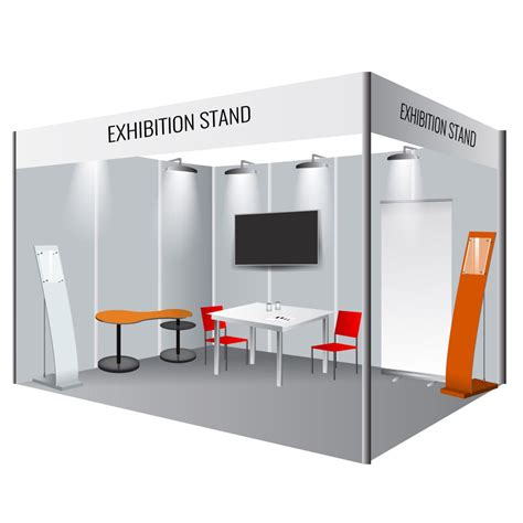 Cladded image gallery stall