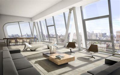 wallpapers penthouse modern design living room