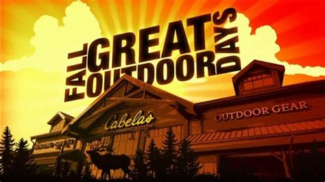 bring the great outdoors to you with cabela s home cabin cabela s hunting fishing outdoor gear tv commercial for