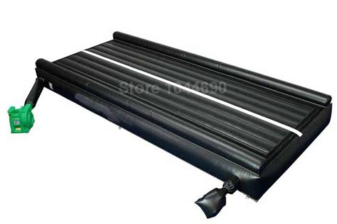 Inflating Cing Mat by 123m Air Tumble Track With Free Shipping