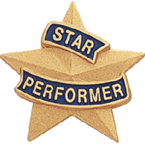 Desk Plates by Star Performer Star