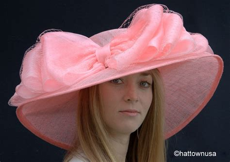 new southern womens kentucky derby hat wide brim