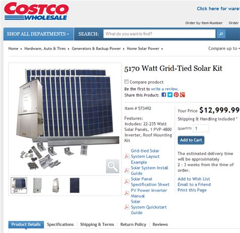 costco solar an update on my solar power project results show why i