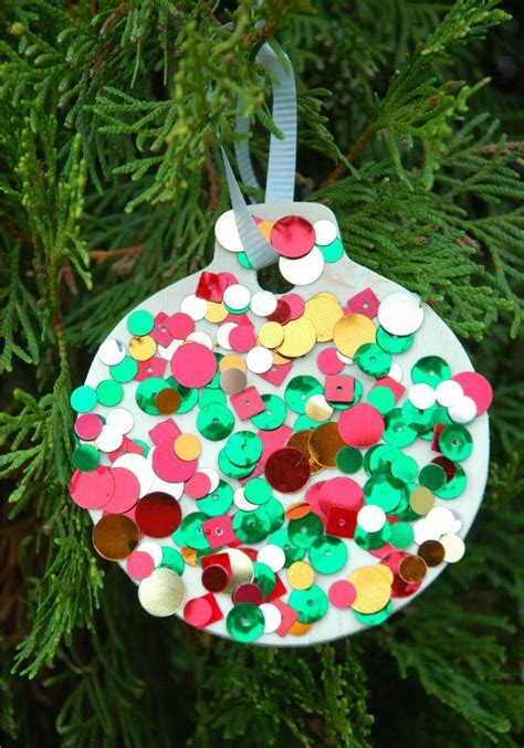 www crafts for sequin ornaments ornament crafts ornament