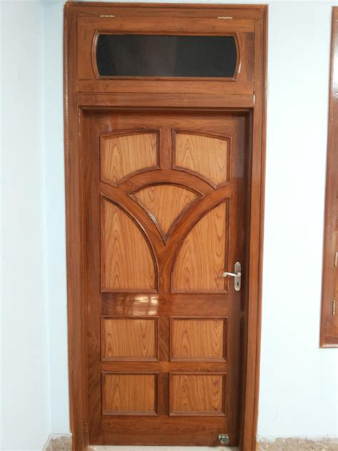 single door design single panel interior wood door design gharexpert