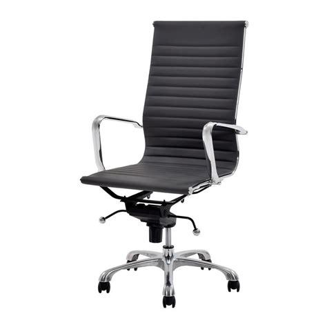 watson gray high back desk chair el dorado furniture