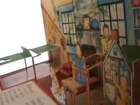 libro the new old house pop up book the jolly jump ups and their new house antique old book libro popup antiguo youtube