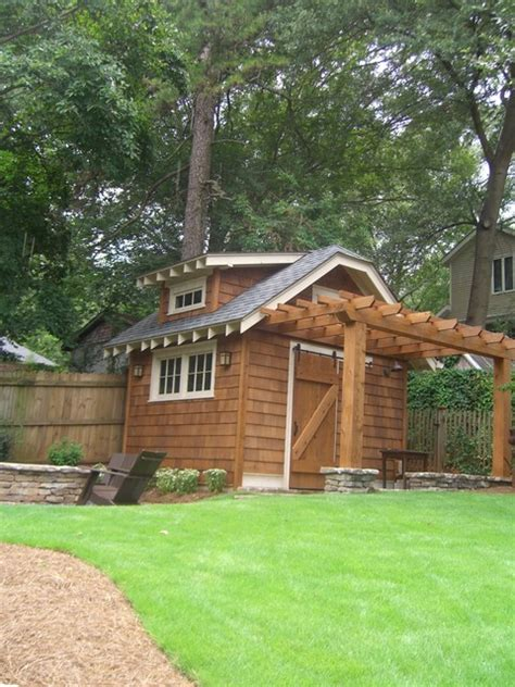 potting shed traditional garage and shed atlanta