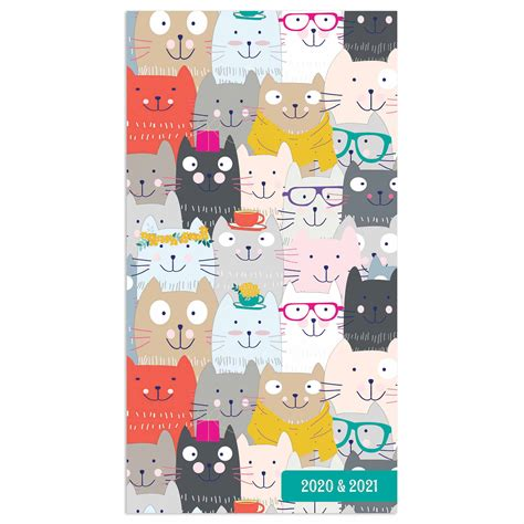 cats slim diary    calendar club