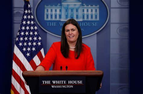 white house press secretary sarah huckabee sanders to be new white house press secretary aol news