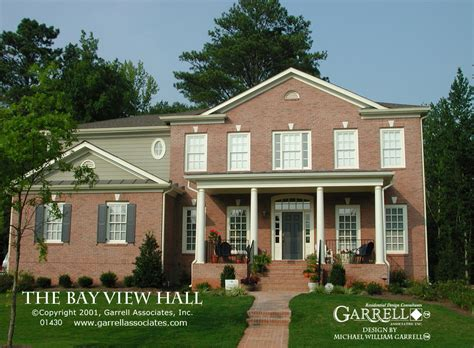 House Plans With View by Bay View Hall House Plan House Plans By Garrell