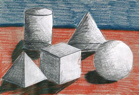 Painting 3d Objects by Jan 25 How To Shade 3d Shapes Lesson Plans