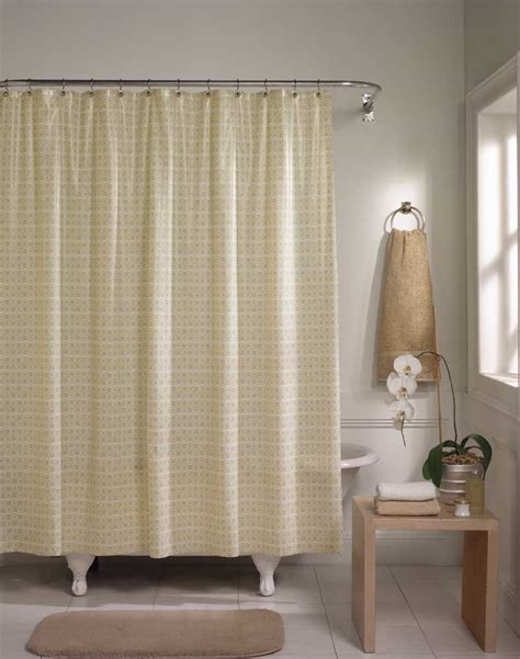 ahower curtain ditto modern geometric vinyl shower curtain curtainworks com