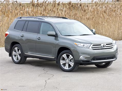 Toyota Highlander 2010 Maintenance Schedule Toyota Highlander Hybrid Research All Models And Prices