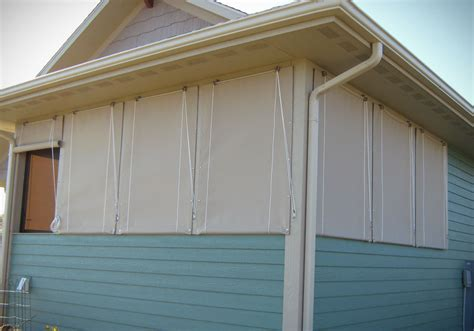 Patio Door Awnings Porch Curtains Northrop Awning Company