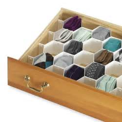 honeycomb drawer organizer set of 8 in closet drawer