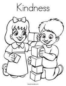 Caillou Decorations Kindness Coloring Page Twisty Noodle
