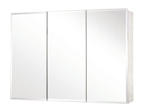 triple door mirrored medicine cabinet ean 6948958645888 pegasus sp4588 mirrored tri view tri