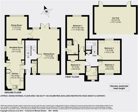 hart house floor plan 4 bedroom detached house for sale in white hart lane