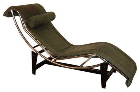 le corbusier chaise lounge chair le corbusier lc4 green leather chaise longue modern