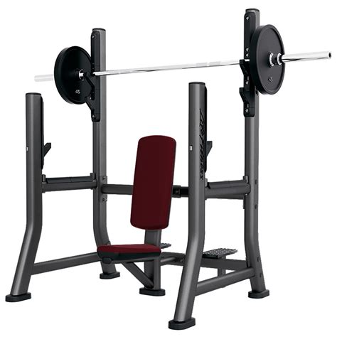 military bench signature series olympic military bench life fitness