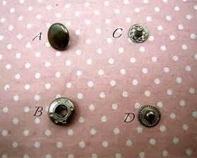 Kancing Jepret cara memasang kancing jepret pada jaket danitailor