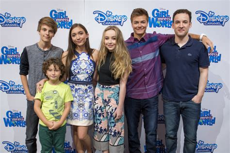 cast of girl meets world takes over times square good photos cast of disney channel s girl meets world at