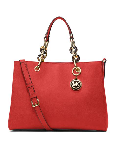 M Hael Kors Cynthia michael kors michael medium cynthia satchel in orange