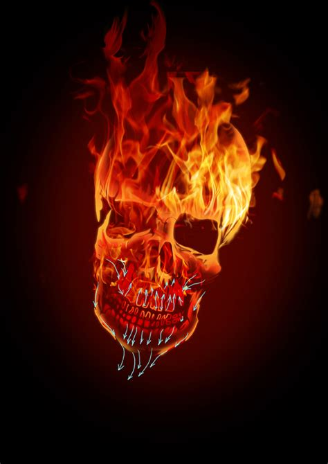 descargar imagenes de calaveras que se muevan c 243 mo crear una calavera llameante infernal en photoshop
