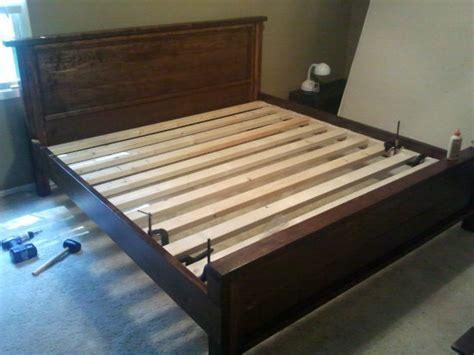 builders showcase king rbr hudson bed  design
