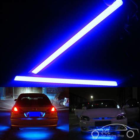 Led Drl 17cm Universal waterproof 17cm cob drl led car parking led drl daytime running light auto l for universal