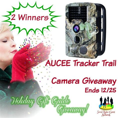 Camera Giveaways - god s growing garden aucee tracker trail camera giveaway