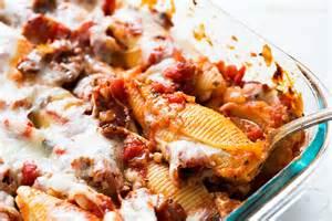 mint ricotta stuffed shells recipe simplyrecipes