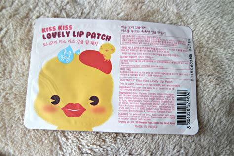 Harga Tony Moly Lovely Lip Patch tony moly lovely lip patch review giveaway