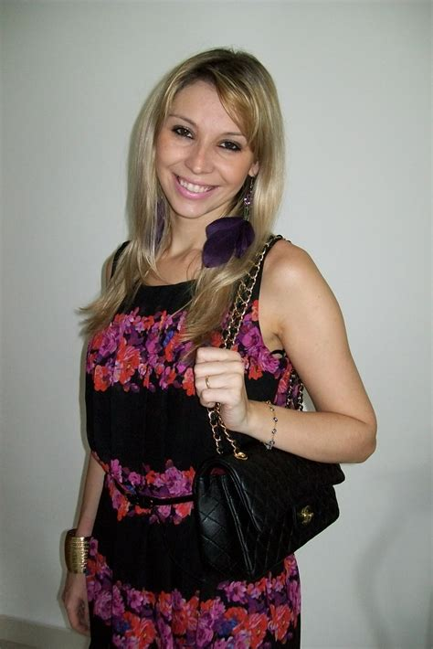 Chanel O Qb estilo da cris look do dia floral