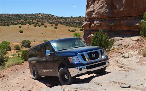 quigley s nissan nv 4x4 conversion performance truck trend